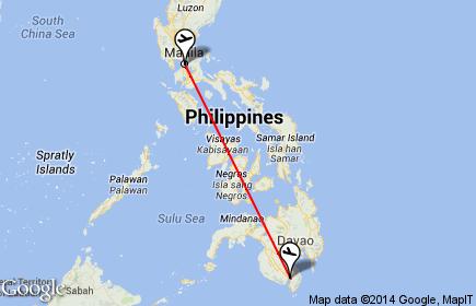 Philippine Airlines ManilaGeneral Santos City Flight Details