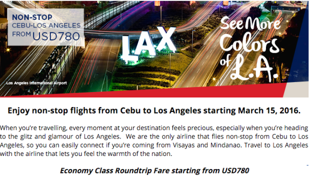 Los Angeles Sales Tax Rate 2017 >> Promos and Seat Sales Archives - Page 6 of 14 - Philippine Airlines Promo Alerts