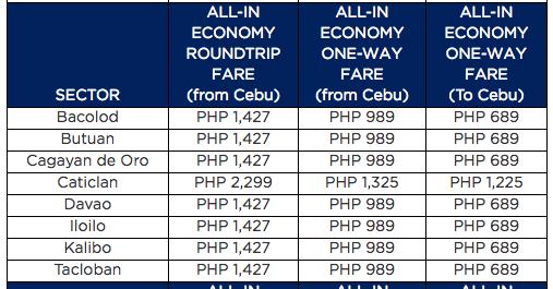 Philippine Airlines Promo 2017 Domestic Travel Sale
